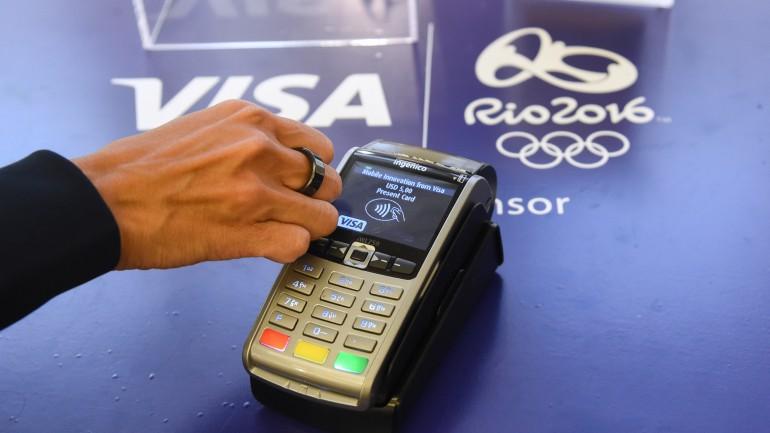 """""""올림픽 기간 동안 카드 대신 반지로 결제하세요"""""""