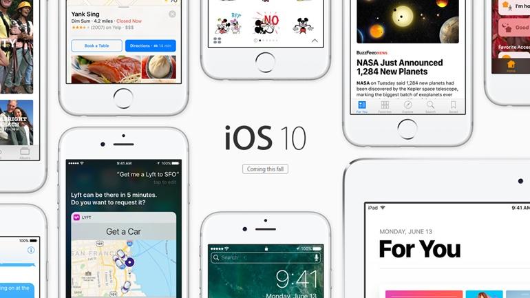 iOS 10에 찾아올 열 가지 변화