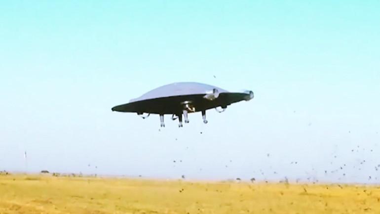 '지구인이 만든 비행접시!' 신기한 미래 항공 기술