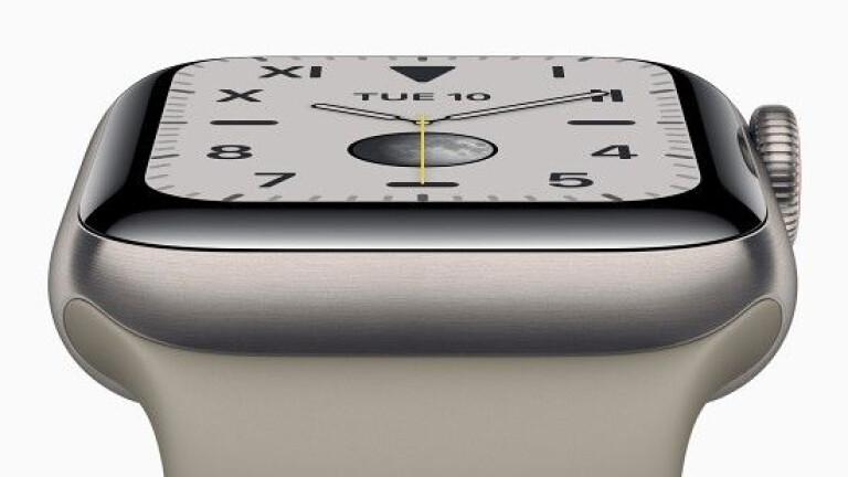 신형 애플워치 5시리즈 공개...399달러