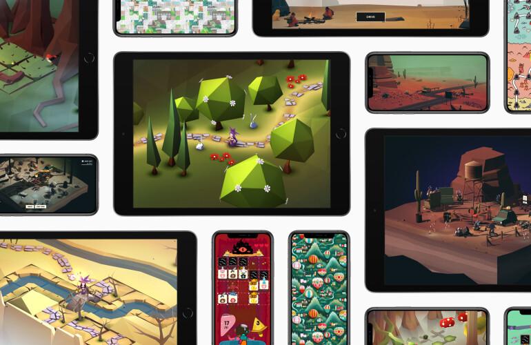 애플, 구독형 게임 서비스 '애플 아케이드' 출시