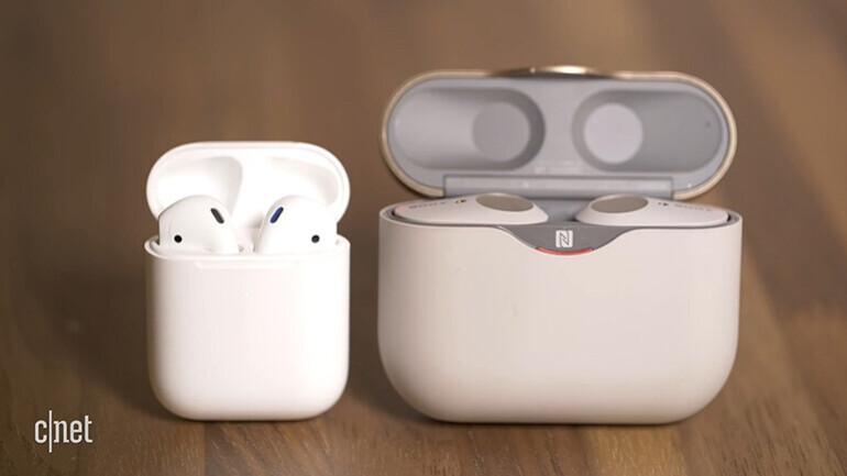 완전 무선 이어폰 성능 비교…애플 에어팟2 VS 소니 WF-1000XM3